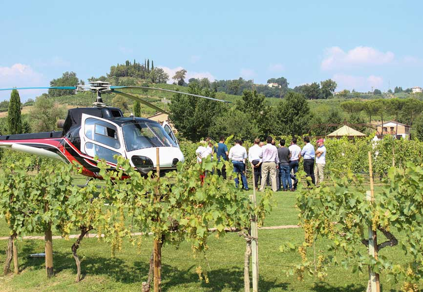 Helicopter Transfer Florence Elba