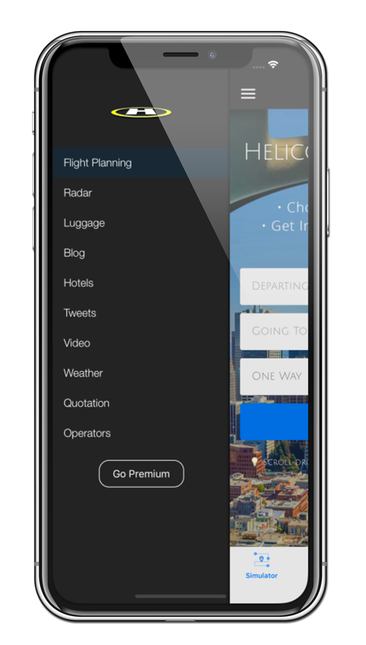 Helicopter Charter App